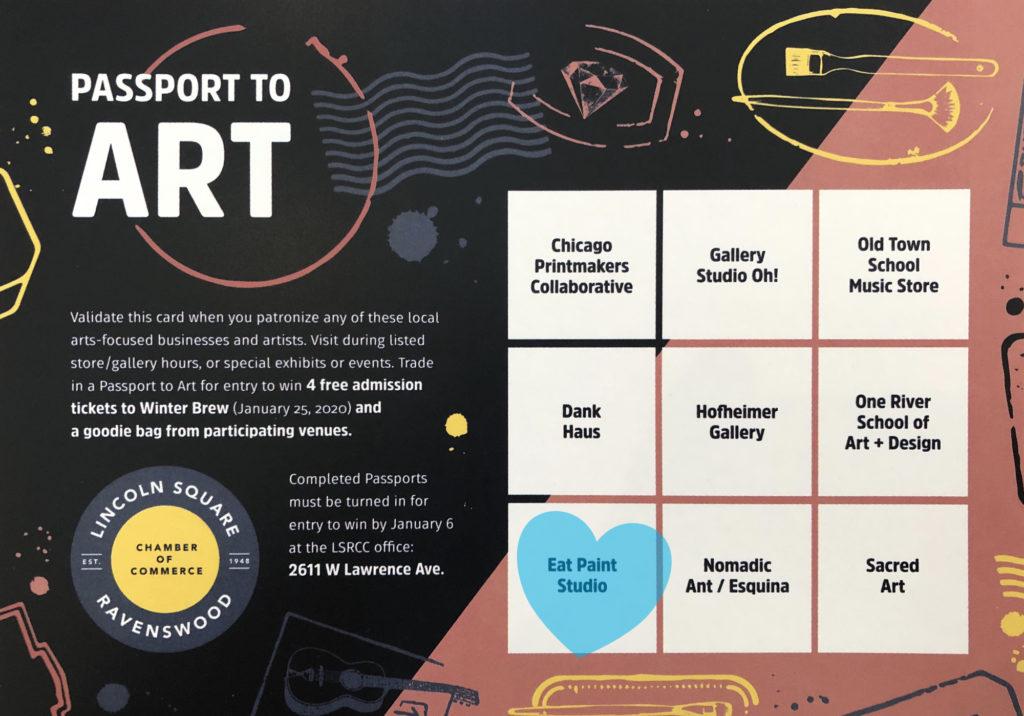 Passport to art promo