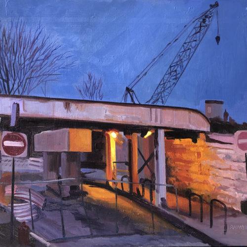 Metra Construction at Ravenswood