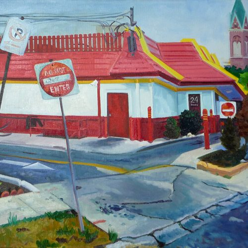 Mcdonald's, Drive-thru (no entry)